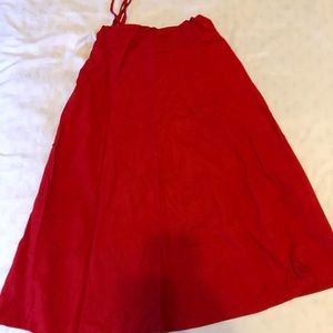 Dresses & Skirts - Red skirt size 2x